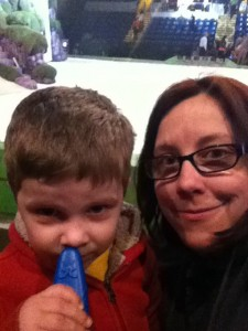 Me and my oldest at Disney on Ice