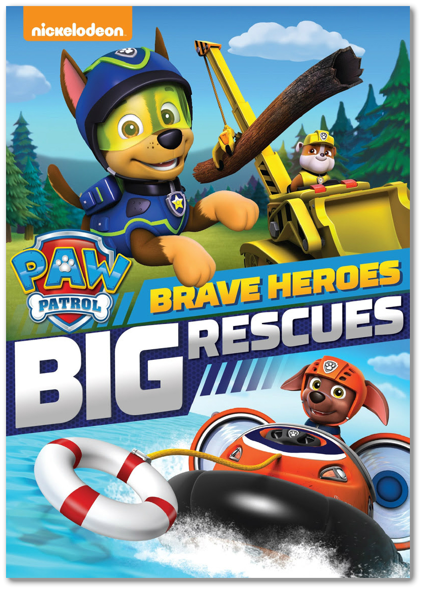 Paw Patrol Brave Heroes Big Rescues Mommy Makes Time