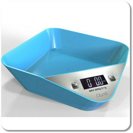 Dunli professional digital kitchen food scale with bowl for Professional food scale