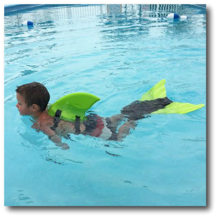 Sun Tails Shark Fin And Monofin Set Swimming In To Your Holiday Hgg17 Mommy Makes Time